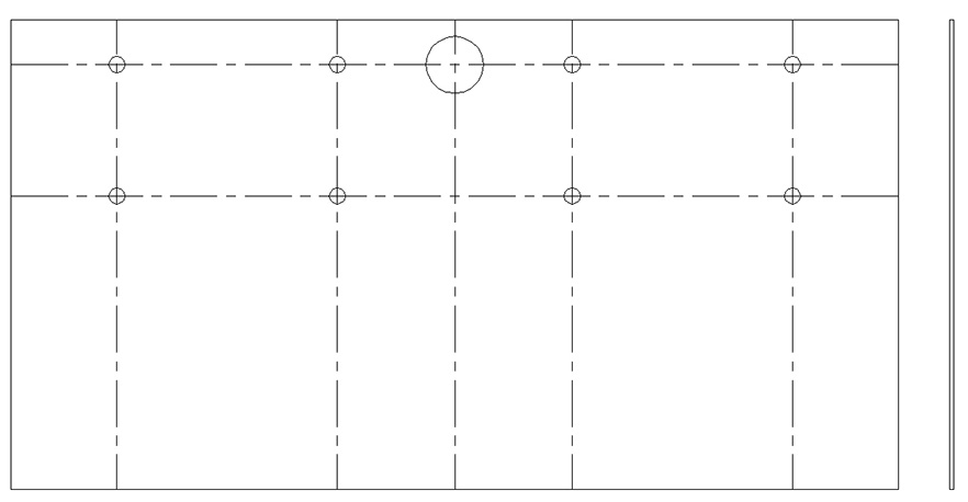 Gregory Alloys Bricks Slug Blade Guillotine Graphic